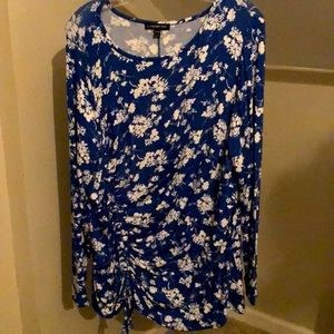 Lane Bryant Floral Long Sleeve Top Size 18/20
